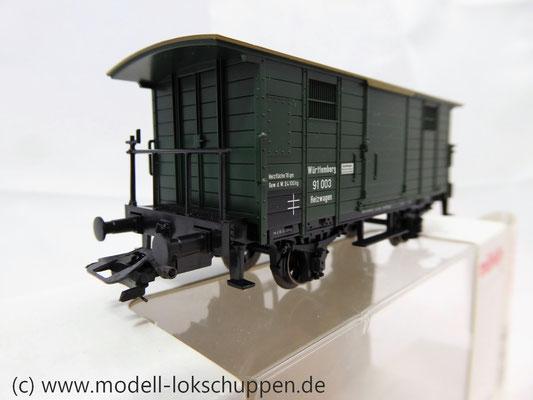 Märklin 48852 / Heizwagen Typ H der K.W.St.E. mit 2 Bremserbühnen      3