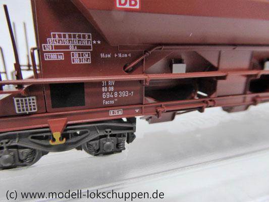 Märklin 48102, Selbstentladewagen Facns 133 der DB AG, Ep. V