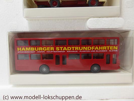 """Trix66158 Zubehörset """"Hamburger Autos"""" 5tlg. Ep. 5x WIKING zum Thema """"Tor zur Welt""""  8"""
