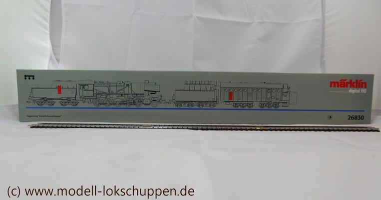 Märklin 26830 BR 52 mit Dampfschneeschleuder / Insider Modell 1998  2