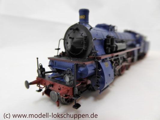 Schnellzuglokomotive Serie IVh der Gr.Bad.Sts.E. / Märklin 39021 MHI 2008    5