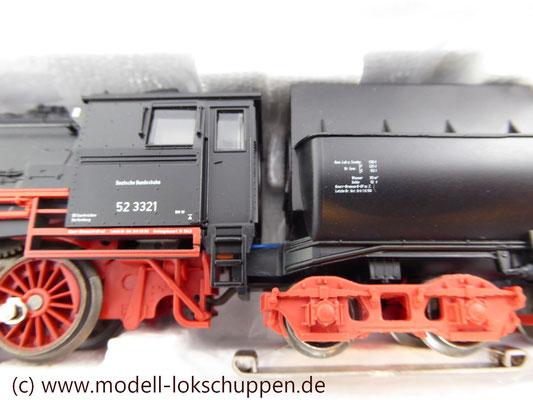 Märklin 26830 BR 52 mit Dampfschneeschleuder / Insider Modell 1998  7
