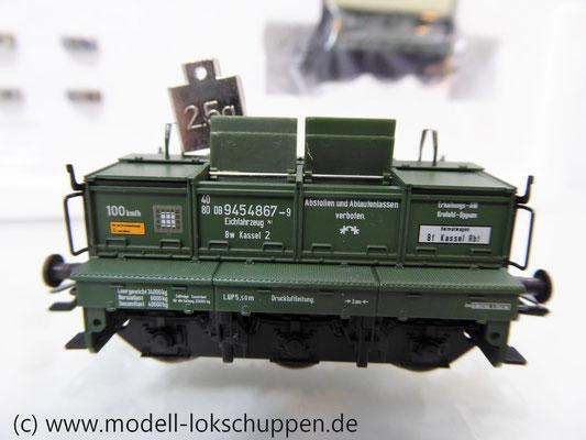 Märklin 48690 H0 Wagen-Set Gleiswaagen-Eichzug, DB, Ep. IV    12