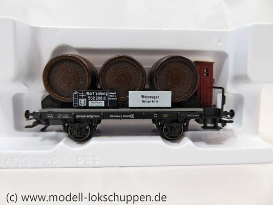 Märklin 46743  Weinfasswagen mit Bremserhaus der K.W.St.E.      3