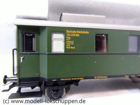 Märklin 45097 Wagen-Set - 6 Flachwagen und 1 Güterzug-BegleitwagenDRG Flugzeug-Transport Me 109    11