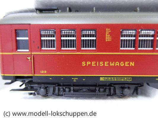 "Märklin 43259 Schnellzugwagen-Set ""Berlin-Hamburg"" DRG Ep.2    5"
