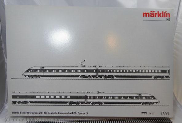BR 403, DB | Spur H0 - Märklin 37778 MHI Elektro-Schnelltriebwagen