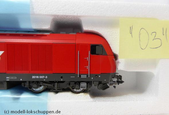 Roco 69401 Diesellok BR 2016 007-3 ÖBB für Märklin DIGITAL mit ESU Loksound 5