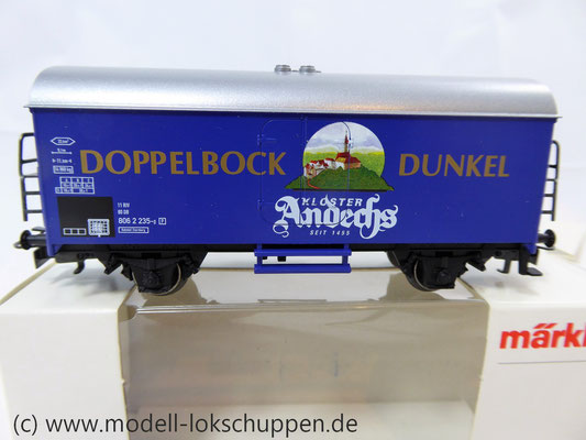 "H0-Bierwagen ""Kloster Andechs Doppelbock Dunkel"" / Märklin 4421    3"