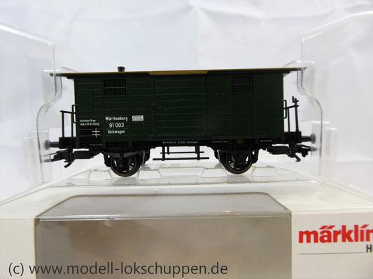Märklin 48852 / Heizwagen Typ H der K.W.St.E. mit 2 Bremserbühnen      1