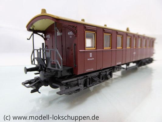 4211 Märklin Schnellzugwagen 3.Klasse der K.W.St.E / Plattformwagen