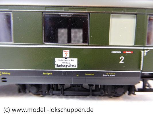 "Märklin 43259 Schnellzugwagen-Set ""Berlin-Hamburg"" DRG Ep.2     7"