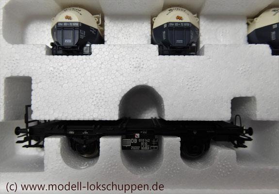 Märklin 48947  Tragwagen-Set mit Birkel pa-Behältern   5