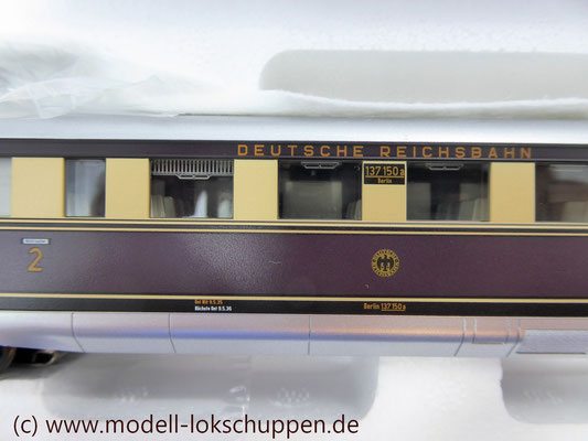 Märklin 37770 H0 Dieseltriebzug SVT 137, DRG, Ep. II  9