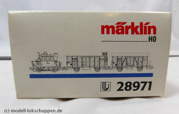 Märklin 28971 H0 Zugset Glaskasten der ÖBB / Limitierte Serie