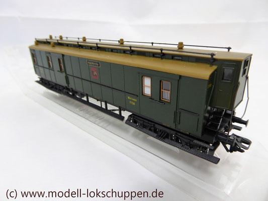 Märklin 4229 Schnellzug-Postwagen der Königlich Württembergischen Post    6