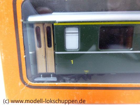 Einheitswagen 1 / 2 Klasse - EW I StN Signet - AB 1534 - RhB - H0m / Bemo 3251 114