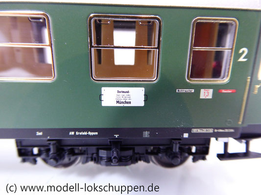 Märklin 43930 H0 Schnellzugwagen der DB 1./2. Klasse AB4üm-63 der DB     4