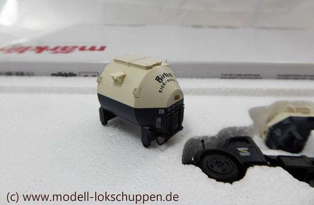 Märklin 48947  Tragwagen-Set mit Birkel pa-Behältern   6