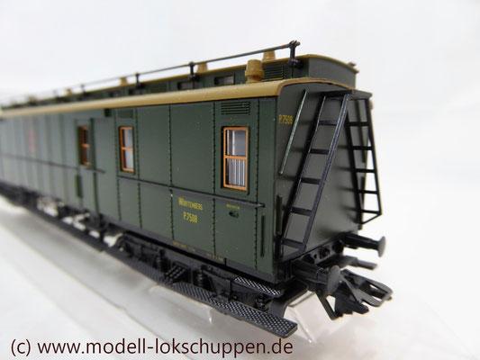 Märklin 4229 Schnellzug-Postwagen der Königlich Württembergischen Post    3