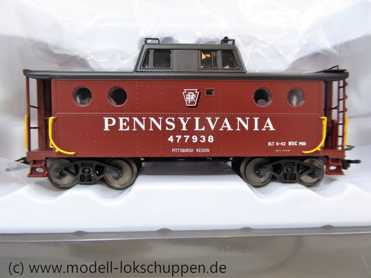 Märklin 45705  Güterzugbegleitwagen  Caboose Typ N5c der Pennsylvania Railroad    3