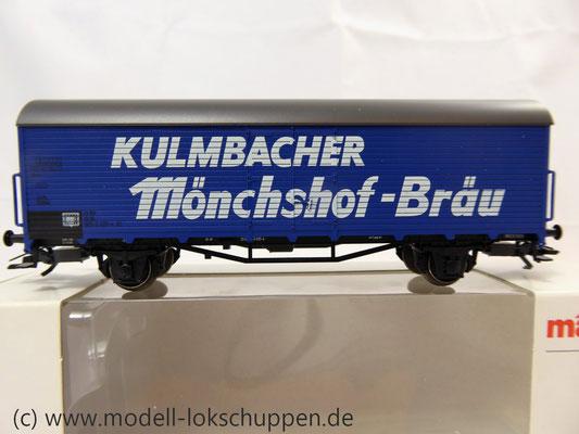Märklin 46202 Bierwagen der Kulmbacher Brauerei AG    2