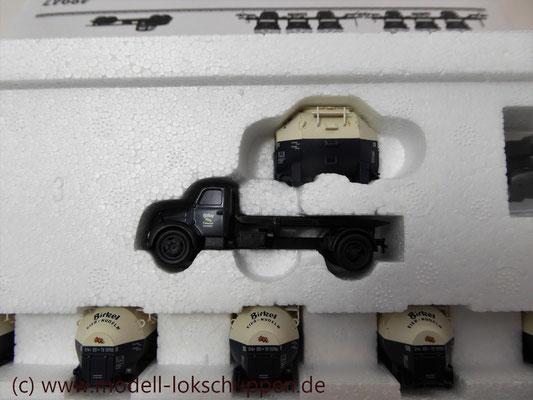 Märklin 48947  Tragwagen-Set mit Birkel pa-Behältern   4