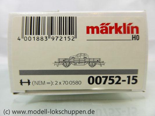 Märklin 4424 aus Wagen Satz Feuerwehrwagen - Alarm für Florian 11