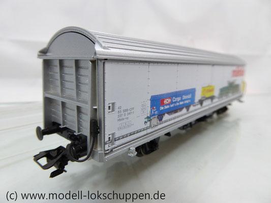 Märklin 4735 84735,3 Hbils-vy Schiebewandwagen in Sonderausführung SBB-CFF