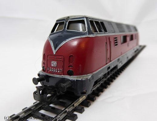 Märklin 3021  BR 200 der DB / digitalisiert