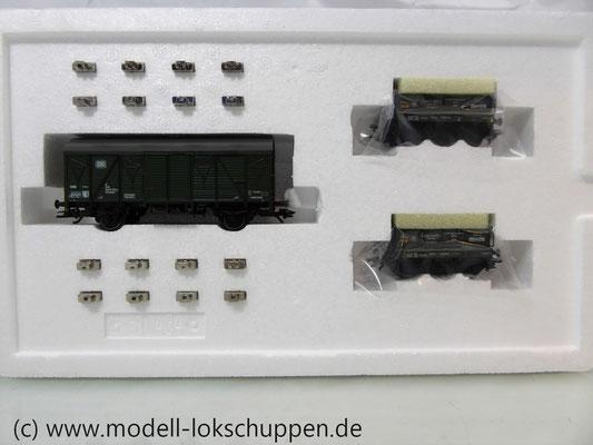 Märklin 48690 H0 Wagen-Set Gleiswaagen-Eichzug, DB, Ep. IV    3