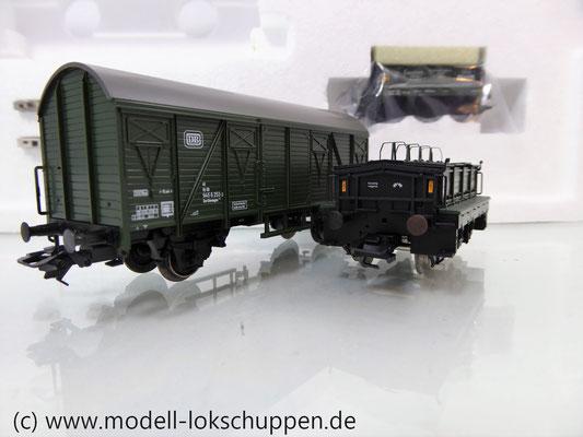 Märklin 48690 H0 Wagen-Set Gleiswaagen-Eichzug, DB, Ep. IV    8