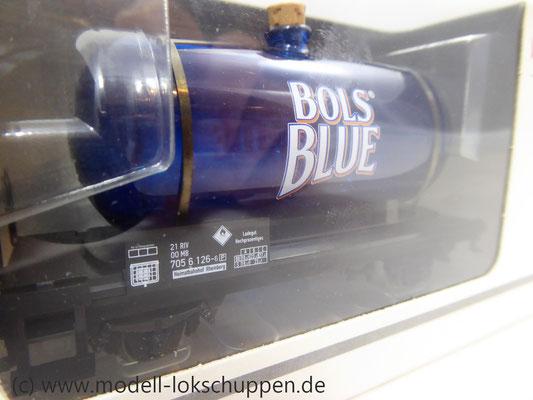 Märklin 44525 Glaskesselwagen Bols Blue Underberg AG MHI Sondermodell      3