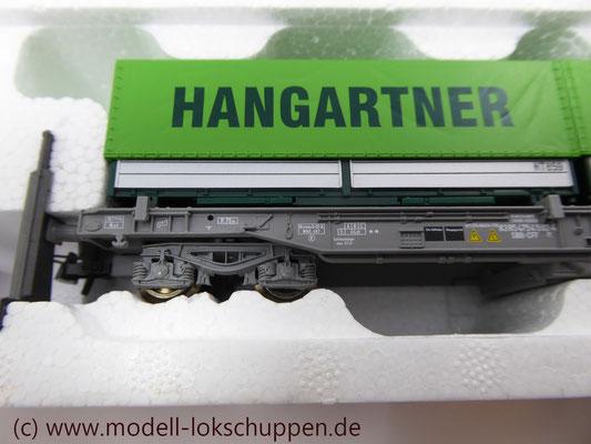 "Roco 66595  Einheitstaschenwagen SBB ""Hangartner AG"" OVP   5"