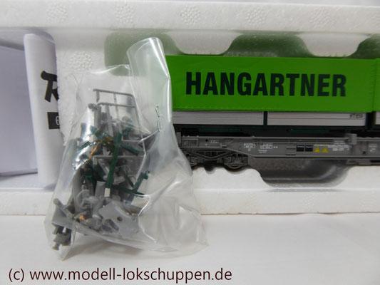 "Roco 66595  Einheitstaschenwagen SBB ""Hangartner AG"" OVP   7"