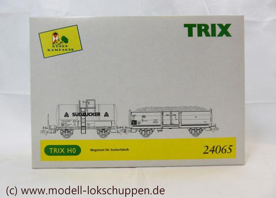 Trix 24065 Wagen-Set zur Zuckerfabrik OVP    2