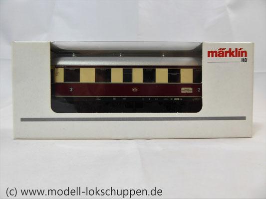 Märklin 43136 Nebenbahnwagen der DB- Exklusivausführung Göppingen Epoche IV     1