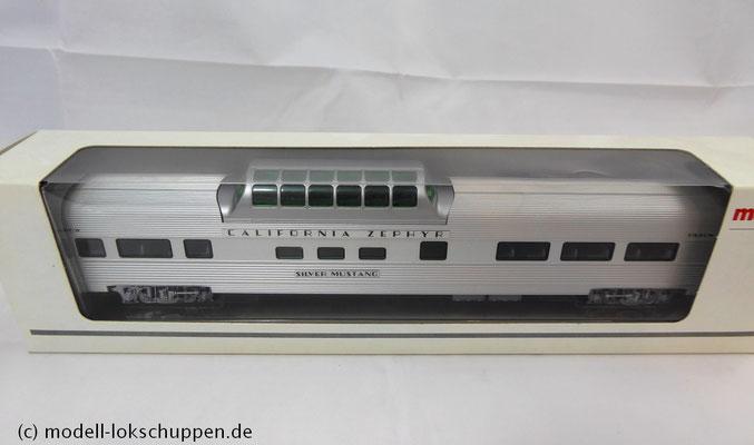 Märklin Santa Fe mit 6 Streamliner  Schnellzugwagen   5