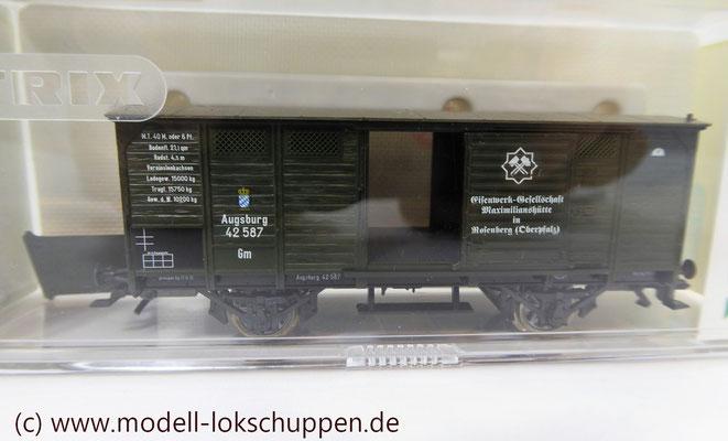 """Trix 24304 Wagen-Set zum Stahlwerk """"Maxhütte""""   5"""