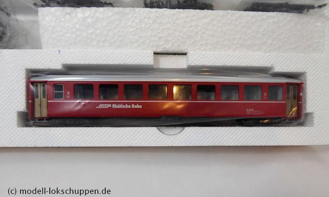 Bemo 7262 200 - HGe 4/4 II - Nr. 107 - Grimsel + 3 Personenwagen - FO - BVZ - RhB - H0m_7