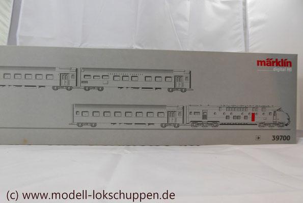 Märklin Digital 39700 - Triebwagen-Zug TEE RAm I SBB    2