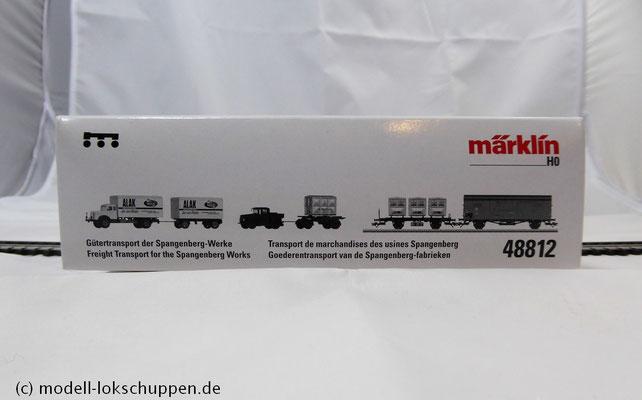 Gütertransport der Spangenberg-Werke / Märklin 48812