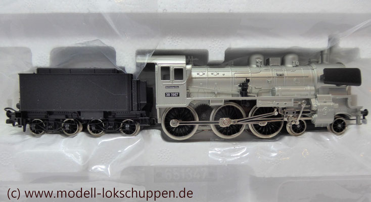 "Lokomotiv-Packung ""Baureihe 38"". (Metall-Technologie-Edition) / Märklin 00380   5"