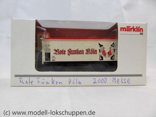 """MÄRKLIN 94072 """"Rote Funken Köln""""mit Bremserhaus Limitiertes Sondermodell    2"""