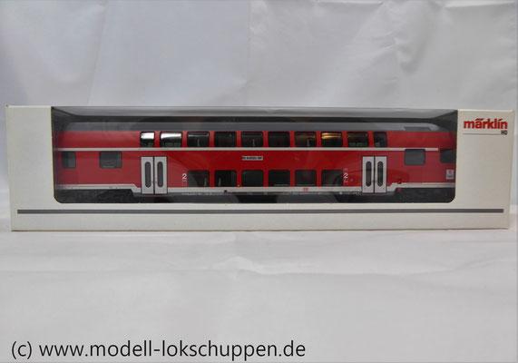 Märklin 43586 Doppelstocksteuerwagen DBbzf 761, 2. Klasse, der DB AG    1
