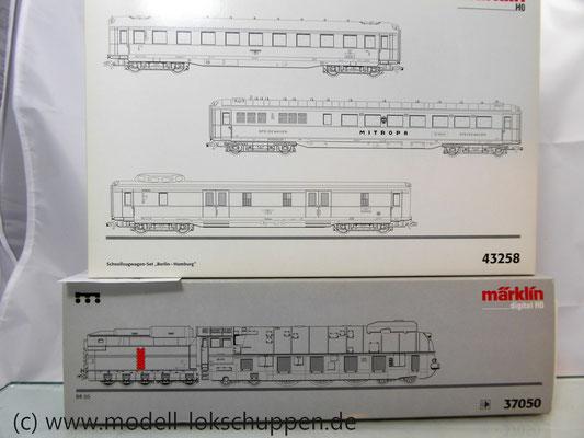 Märklin 37050 BR 05 + Märklin 43258 Schnellzugwageset