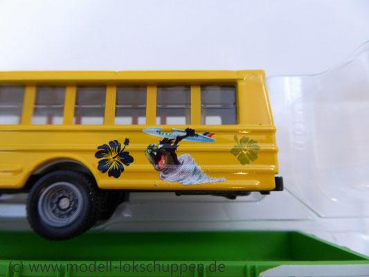 Märklin 48613 / Märklin Kids Club Jahreswagen 2013  Niederbordwagen mit Schulbus     6