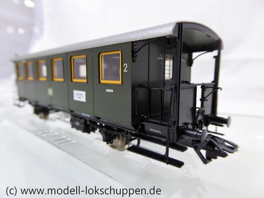 Märklin 43020 Nebenbahnwagen  der DB Bayerische Bauart. 2. Klasse mit Großraum