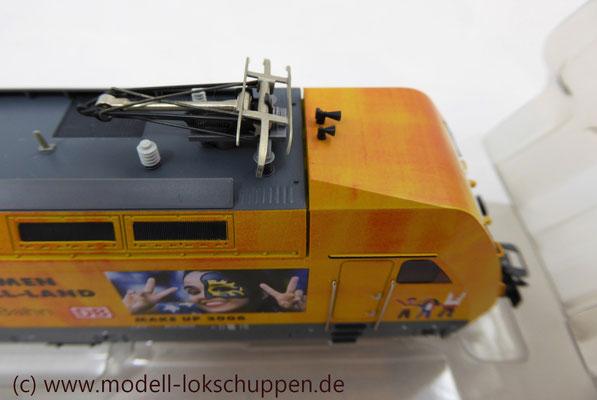 """Märklin 39370 E-Lok BR 101 """"Fußball WM 2006"""" Insider Modell 2000   9"""