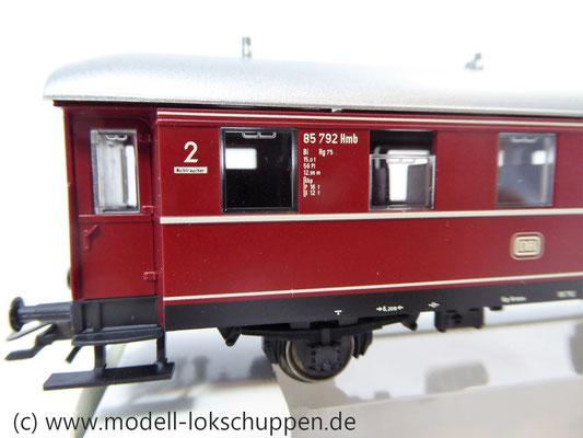 Märklin 4335 / Nebenbahnwagen der DB rot 2 Klasse    5